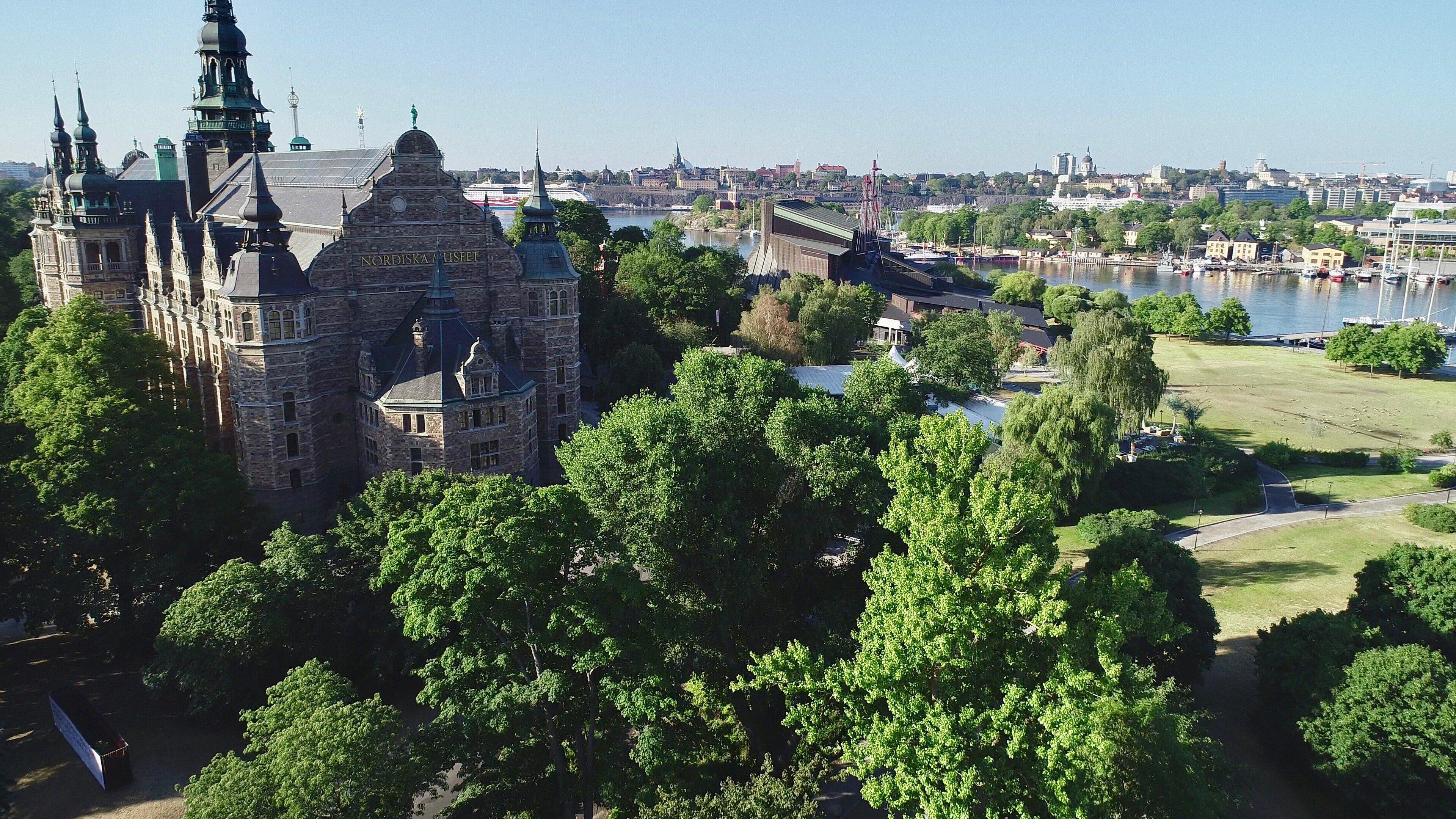 Nordiska museet - Kungliga Djurgården, Östermalm, Stockholm - En av världens vackraste stadsparker - @kungligadjurgarden - kungligadjurgarden.com - Kungliga Djurgården en del av Östermalm - @ostermalm - ostermalm.com