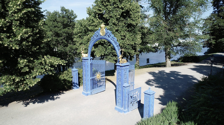 Blå porten - Kungliga Djurgården, Östermalm, Stockholm - En av världens vackraste stadsparker - @kungligadjurgarden - kungligadjurgarden.com - Kungliga Djurgården en del av Östermalm - @ostermalm - ostermalm.com